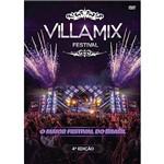 DVD - Villa Mix - Festival - 4ª Edição