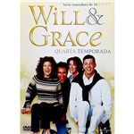 DVD Will e Grace 4ª Temporada