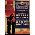 DVD 2x Country Willie Nelson e Garth Brooks