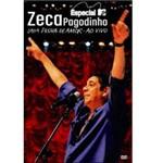 DVD Zeca Pagodinho: uma Prova de Amor - Especial MTV - ao Vivo