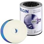 Dvdr Dual Elgin Printable - 100 Unidades