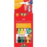 Ecogiz de Cera 12 Cores Ht141412-faber Castell