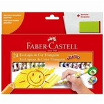 Ecolápis 24 Cores Jumbo 123024ap-faber Castell