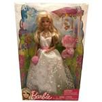 Edição Especial - Boneca Barbie com Vestido de Noiva - Pronta para o Casamento - Acompanha Anel para a Criança - Mattel / Ano de Fabricação: 2011