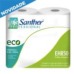 EHR50 - Papel Higiênico Santher Rolão 8 Unid de 500 Metros Cada