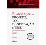 Elaboração de Projeto Tcc Dissertação e Tese