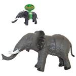 Elefante de Vinil Emborrachado com Som Reino Animal 40x21cm