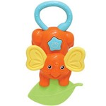 Elefantinho Divertido Buba Baby Laranja 6m+ - 08274