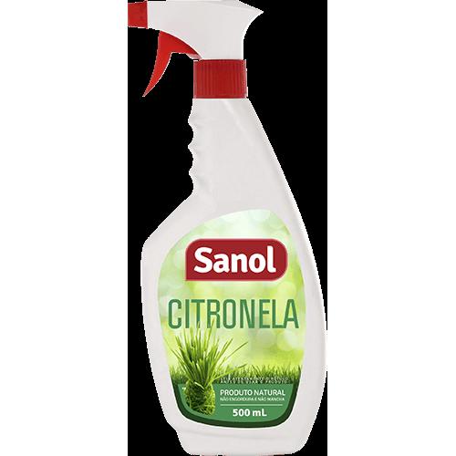 Eliminador de Odores Sanol Citronela Vet para Ambientes 500ml