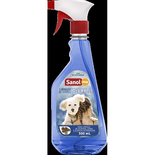 Eliminador de Odores Sanol Dog Tradicional Spray para Ambientes 500ml
