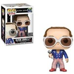 Elton John - Red White And Blue Boneco Pop Funko #63 Glitter Exclusivo FYE