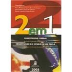 2 em 1 - Constituiçao Federal e do Estado de Sp