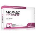 Emagrecedor Monaliz Picolinato de Cromo - Meu Controle - 30 Comprimidos 1g - Sanibrás