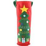 Embalagem para Garrafa com Estampa Árvore de Natal - Christmas Traditions
