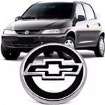 Emblema Chevrolet da Grade do Radiador Celta 2000 2001 2002 2003 2004 2005 - Cromado