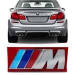 Emblema M do Porta Malas - BMW - Cromado