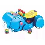 Empurrador - Papa Brinquedos - Hipopótamo - Fisher-price