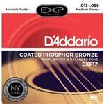 Enc Violão Aço Daddario Exp17 Coated Phosphor Bronze 0.13