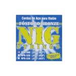 Enc Violao Aco Nig Npb 560 Fosforo Bronze