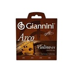 Enc Violino Giannini Geavva Aluminio