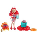 Enchantimals Boneca Cameo Crab com Chela e Couriney - Mattel