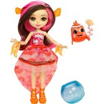 Enchantimals Boneca e Bichinho Clara Cackle - Mattel