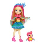 Enchantimals Boneca e Bichinho Peeki Parrot - Mattel