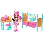 Enchantimals Cômodos da Casa - Quarto dos Sonhos e Boneca Bren Bear - Mattel