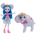 Enchantimals Conjunto - Ekaterina Elephant e Antic - Mattel