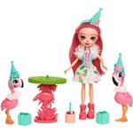 Enchantimals - Festa com Flamingos - Fanci Flamingo - Mattel