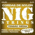 Encord. Violao Tensao Media Nylon N415 Nig