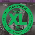 Encordoamento Baixo 4C 0.40 EFX220 - D'addario