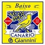 Encordoamento Baixo 4c Giannini Gesbx 040 Canário