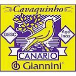 Encordoamento Canário para Cavaquinho com Chenilha GESC - Giannini