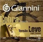 Encordoamento Cavaco Giannini Cc82l Leve Bronze 80/20