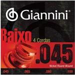 Encordoamento Contrabaixo 4c Giannini Geebrs 045