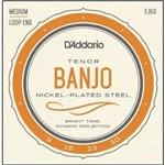 """Encordoamento D'addario para Banjo Tenor Ej63 - .009""""/.030"""""""