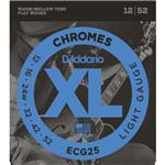 Encordoamento Guitarra 012-052 Ecg25 D'addario