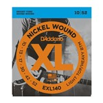 Encordoamento Guitarra D'Addario EXL140 Light Hibrida .010-.052