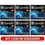 Encordoamento Guitarra de 7 Cordas 09 Giannini GEEGST709 - Kit com 6 Unidades