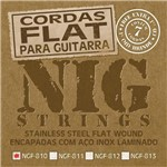 Encordoamento Guitarra Nig 010 Ngf810 Flat Wound