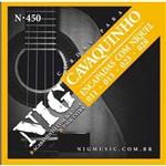 Encordoamento Nig Cavaco N450 Bolinha Pretado 0.11