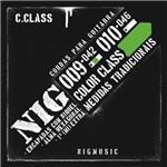 Encordoamento Nig Color Class Verde 09 042 para Guitarra N1634