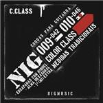 Encordoamento Nig Color Class Vermelho 010 046 para Guitarra N1641