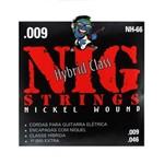 Encordoamento NIG Guitarra 009 - 046 Hibrido NH66