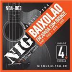 Encordoamento NIG para Baixolão NBA-803 - .040/.095