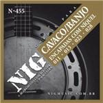 """Encordoamento Nig para Cavaco/Banjo N-455 - .011""""/.028"""""""