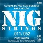 Encordoamento Nig para Violão Aco (.011-.052) N430