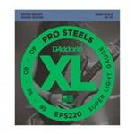 Encordoamento para Baixo 4 Cordas DAddario EPS220 040/95