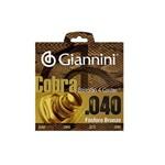 Encordoamento para Baixolão 4 Cordas Giannini GEEBALF .040 Fósforo Bronze